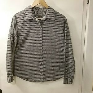 Investments button down blouse